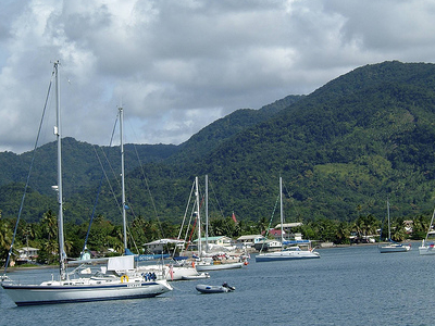 Sailing At Portsmoutn Dominica
