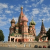Saint Basil's Cathedral Near The End Of Red Square