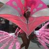 A Costumed Carnival Dancer