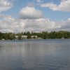 A View From Lac Des Sables