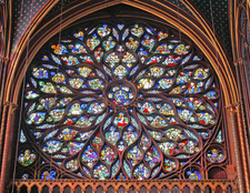 Sainte Chapelle's Rose Window