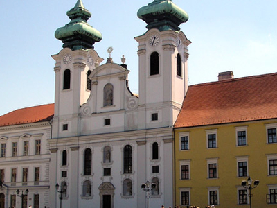 Saint Ignatius Of Loyola Church, Győr