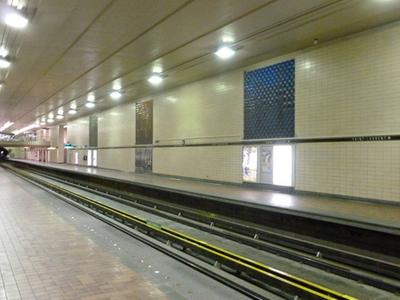 Saint Laurent Metro Station