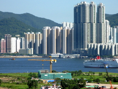 Distant View Of Sai Wan Ho