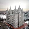 Salt Lake City Mormon Temple Overview UT