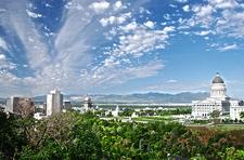 Salt Lake City Panorama
