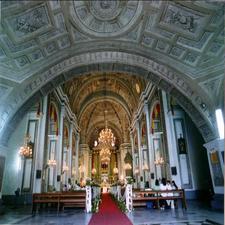 San Agustin Church Interior
