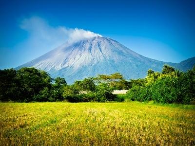San Cristobal Volcano In Nicargua