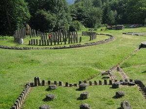 Fortalezas de Dacian de las montañas de Orastie