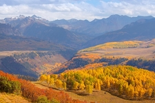 San Juan Mountains CO Autumn View