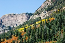 San Juan Mountains Landscape In Fall CO