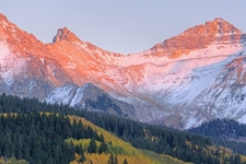 San Juan Mountains Sunrise CO
