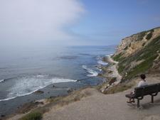 Viem From San Pedro Over The Palos Verdes Peninsula