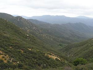 Montañas de Santa Ana