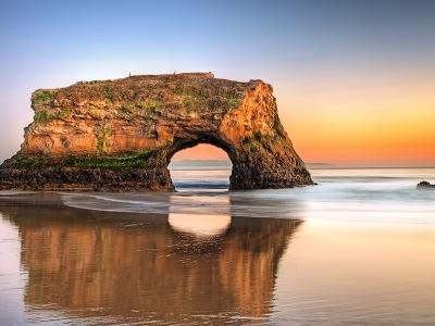 Santa Cruz - Natural Bridges State Beach CA
