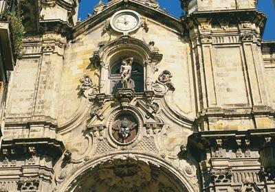 Santa María Church. San Sebastián
