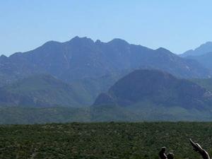 Montañas de Santa Rita