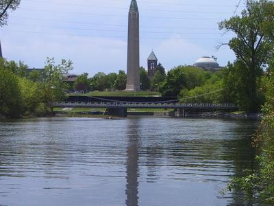Saranac  Plattsburgh  N Y Obelisk