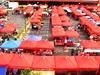Satok Weekend Market - View