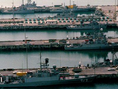 Saudi  Navy  Desert  Sheild