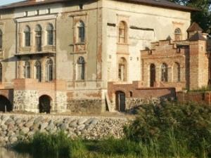Sławsk - Antiguo Palacio-Park Complex