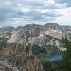 Sawtooth Mountains And Toxaway Lake