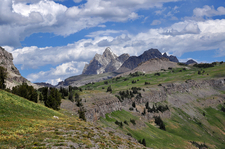 Scenic Death Canyon Trail - Grand Tetons - Wyoming - USA