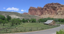 Scenic Drive Bicycle Tour - Capitol Reef - Utah - USA