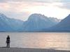 Scenic Jackson Lake - Grand Tetons - Wyoming - USA