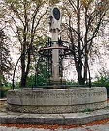 Schubertbrunnen Fountain