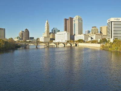 Scioto River With Columbus - Ohio