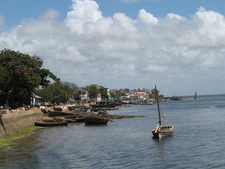 Seafront Of Lamu Town