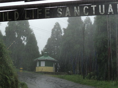 Senchal Wildlife Sanctuary Entrance