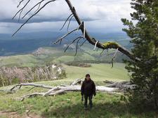 Sepulcher Mountain Trail - Yellowstone - USA