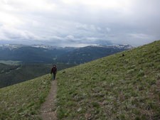 Sepulcher Switchbacks - Trail At Yellowstone