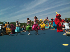 Sesame Place Opening Day