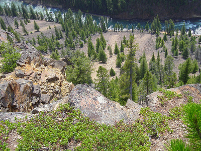 Seven Mile Hole Trail - Yellowstone - USA