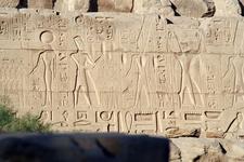 Mehit, Ramses II And Amun-Ra, Ramses II And Anhur. Karnak