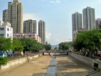 Shan  Pui  River  Yuen  Long  Town  Centre  Section