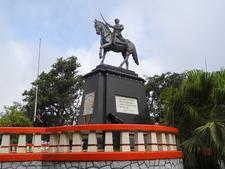 Shivaji Bhosle Statue - Mahabaleshwar - Maharashtra - India