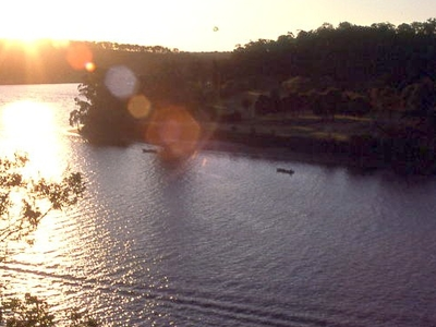 Shoalhaven River At Sunset