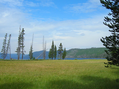 Shoshone Lake Trail - Yellowstone - USA