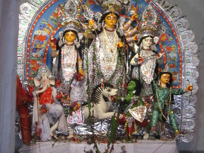 Shovabazar  Durga  Pooja Festival