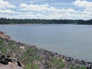 Mostrar Lago Menor
