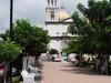 Side Plaza Church Comala