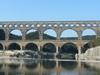 Side View Of Pont Du Gard