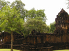 Side View Of Mueang Sing Historical Park