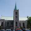 Side View Of Sacred Heart Cathedral