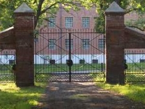 Sielec de Manor House y el parque de una