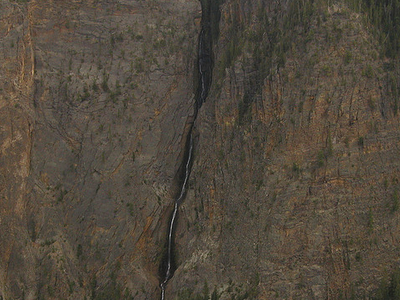 Silver Cord Cascade - Yellowstone - USA